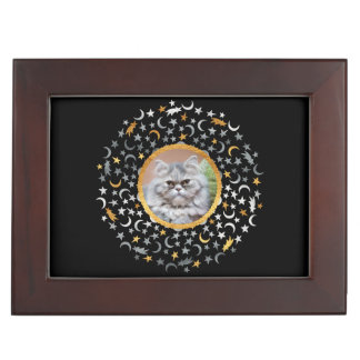 Your Photo Moon & Stars Keepsake Box