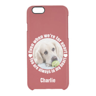 YOUR PHOTO & NAME Far Apart Love phone cases
