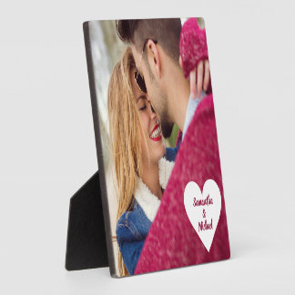 YOUR PHOTO & NAMES custom plaque