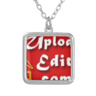 Your Photo On A Special Print Product Silver Plated Necklace