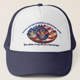 Your photo, or my one of a kind designs. cap