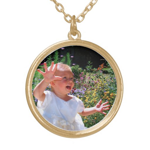 YOUR PHOTO Personalized Necklaces for Grandmothers