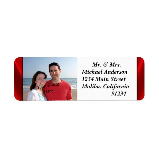 Your Photo Return Address Labels