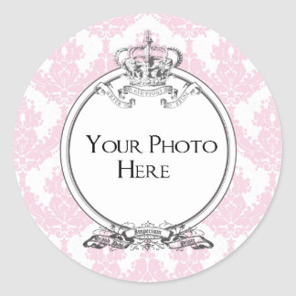 Your Photo Sticker (Peach)
