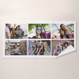 YOUR PHOTOS & COLOR custom bath towel