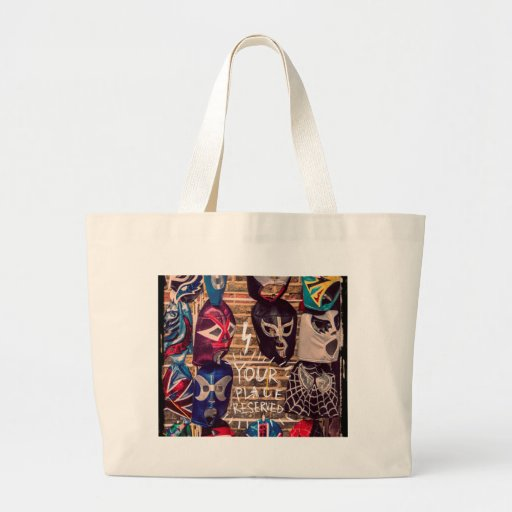 Your place reserved design tote bags