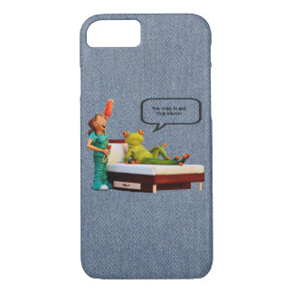 Your planning on putting that where! iPhone 7 case