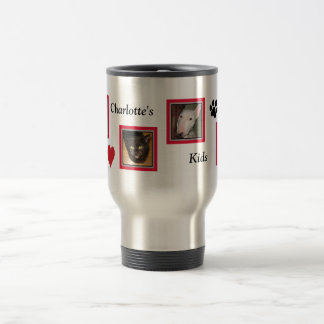 Your Precious Kids/Four Framed Photos Travel Mug