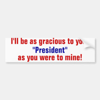 your president bumper stickers