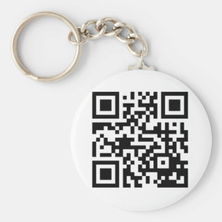 Your Quick QRS Code In Stuff Basic Round Button Key Ring