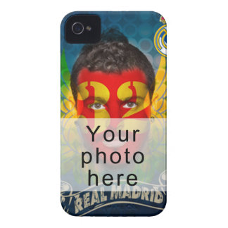 Your Real Madrid face for your Blackberry cover iPhone 4 Cover