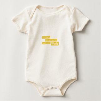 Your Reality Defines How You Perceive the World Baby Bodysuit