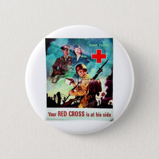Your Red Cross 6 Cm Round Badge