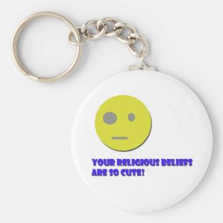 Your Religious Beliefs Key Chain