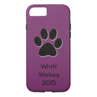 Your School's iPhone Case Cover -- Purple