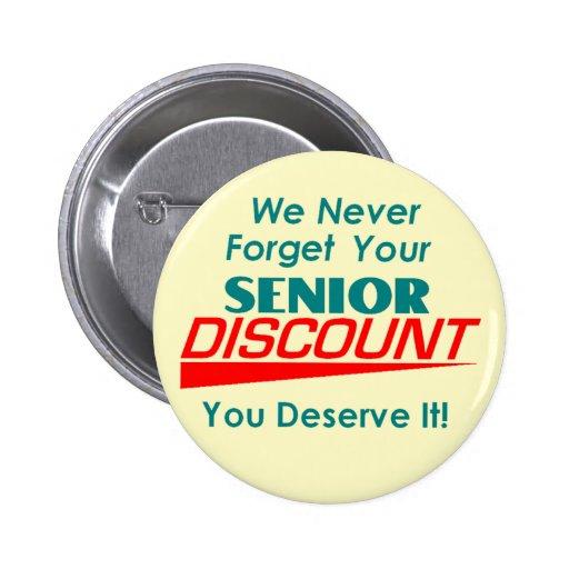 YOUR Senior Discount Button