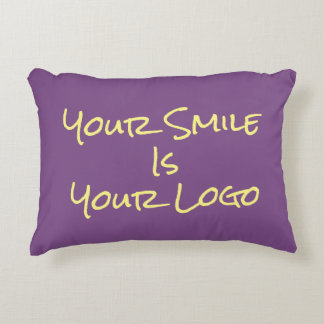 Your Smile Is Your Logo Pillow
