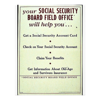 Your Social Security Board Field Office Flyer Design