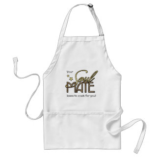 Your Soulmate loves to cook for you Standard Apron