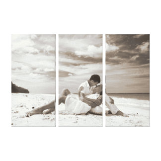 Your Special Day Wrapped on a 3 piece Canvas Canvas Print