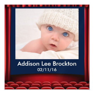 YOUR STAR IS BORN Magnet Magnetic Invitations