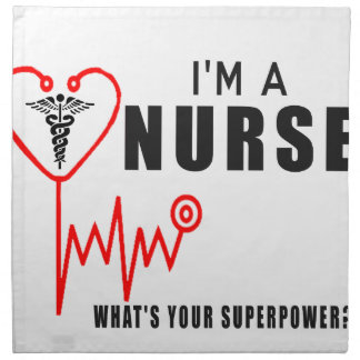 Your superpower nurse napkin