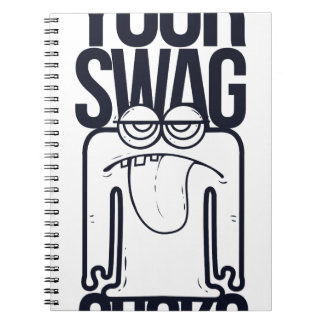 your swag sucks, funny notebook