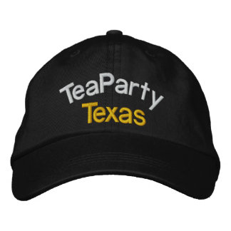 Your Tea Party-Taxed to the MAX- by SRF Embroidered Baseball Caps
