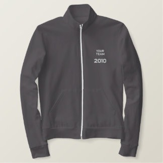 """""""Your Team Here"""" customize-able  Embroidery Embroidered Jackets"""