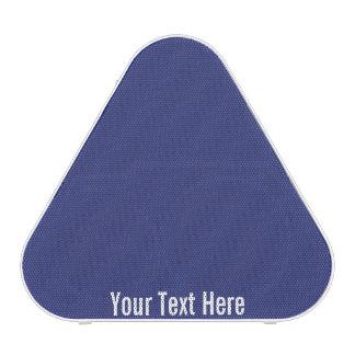 Your Text Here Blue Pieladium Bluetooth Speaker