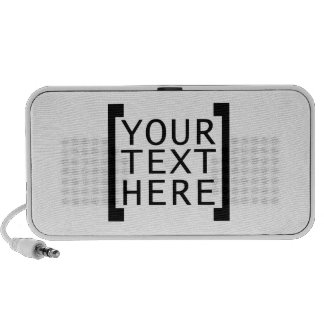 your text here funny advertise humor joke computer iPod speakers