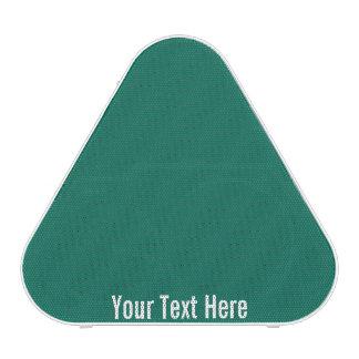Your Text Here Green Pieladium Bluetooth Speaker