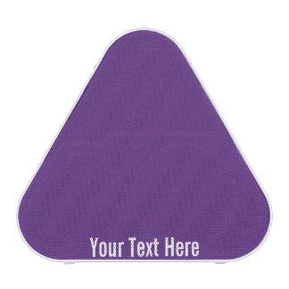 Your Text Here Purple Pieladium Bluetooth Speaker