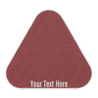 Your Text Here Red Pieladium Bluetooth Speaker