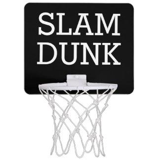 Your Text Mini Basketball Hoop