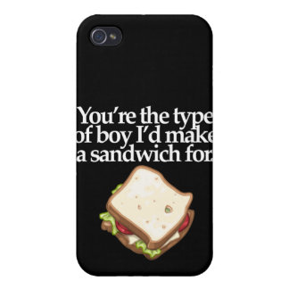 YOUR THE TYPE OF BOY (DARK) iPhone 4/4S CASE