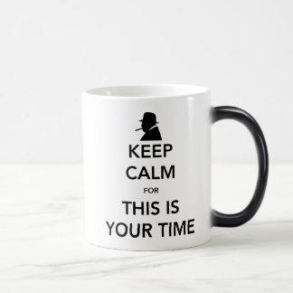 Your Time Morphing Mug