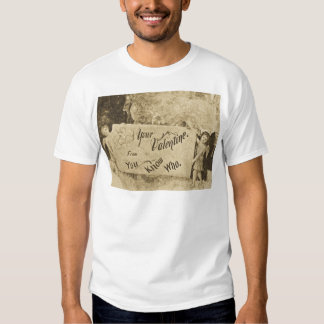 Your Valentine from You Know Who Vintage T-shirt