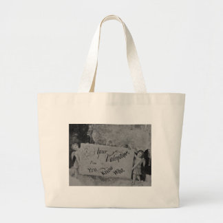 Your Valentine from You Know Who Vintage Tote Bag