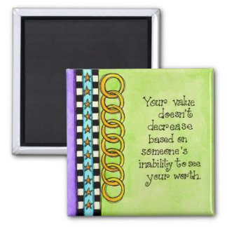 Your Value Square Magnet