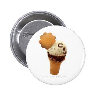 Your vanilla ice 2 u 6 cm round badge