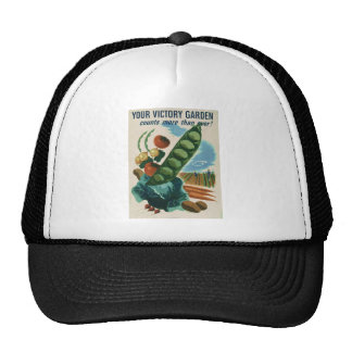 Your victory garden counts more than ever! cap