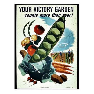 Your Victory Garden Postcard