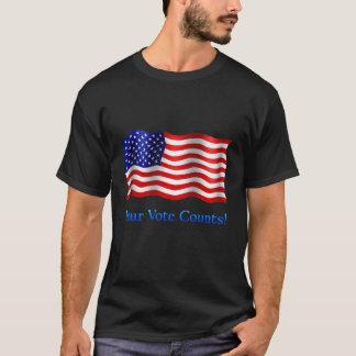 Your Vote Counts - Basic Dark T-Shirt