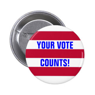 Your Vote Counts Button