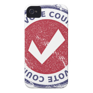 your vote counts iPhone 4 covers