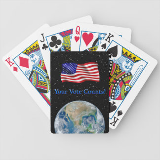 Your Vote Counts - Multiple Products Bicycle Poker Deck