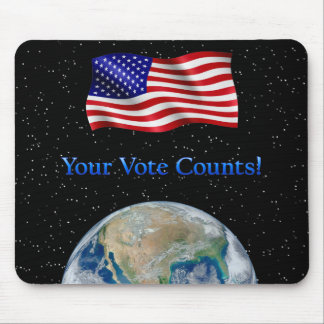 Your Vote Counts - Multiple Products Mouse Pad