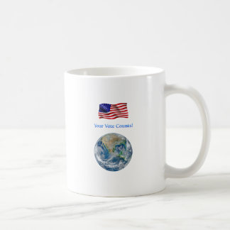 Your Vote Counts - Multiple Products Classic White Coffee Mug