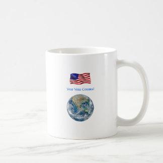 Your Vote Counts - Multiple Products Basic White Mug